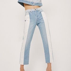 PISTOLA Charlie Colorblock Jeans High-Rise NWT